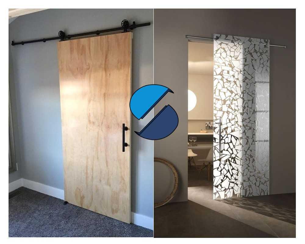 Porta Scorrevole Con Binario Esterno come realizzare una porta scorrevole con binario a vista [guida]