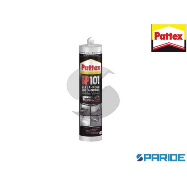 ADESIVO SIGILLANTE PATTEX SP101 BIANCO 280 ML POLI...