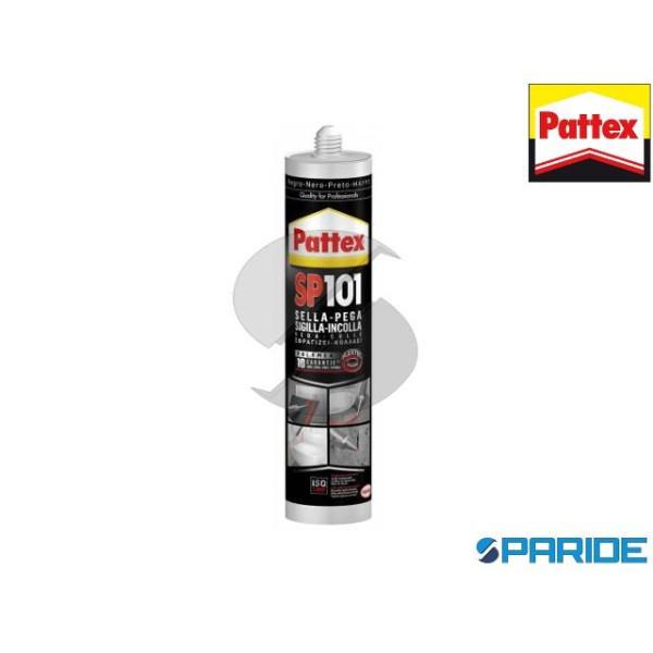 ADESIVO SIGILLANTE PATTEX SP101 NERO 280 ML POLIME...