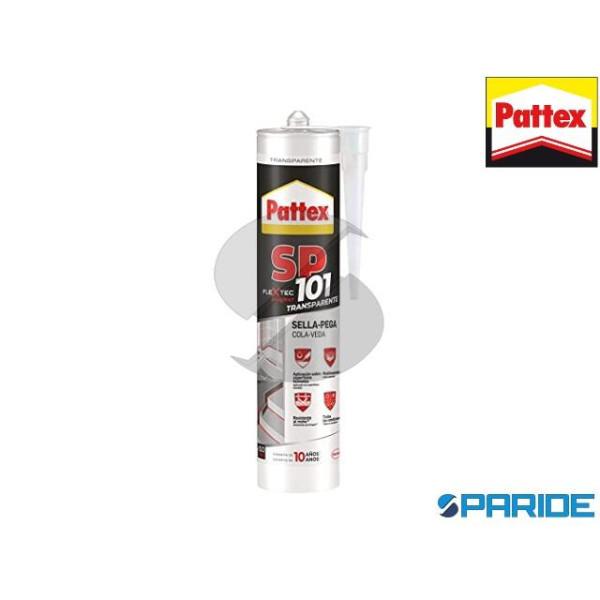 ADESIVO SIGILLANTE PATTEX SP101 TRASPARENTE 280 ML...