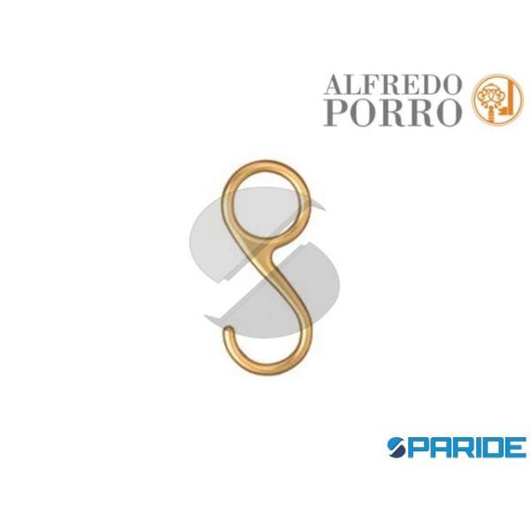 ANELLO CON GANCIO 803 CROMO SATINATO PORRO