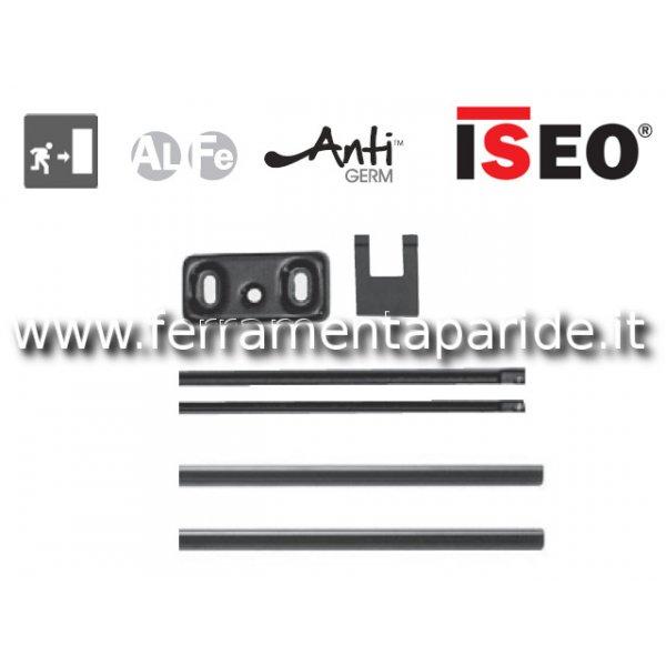 ASTE E COPERTURE L 2400 MM 941000205 NERO ISEO PER...