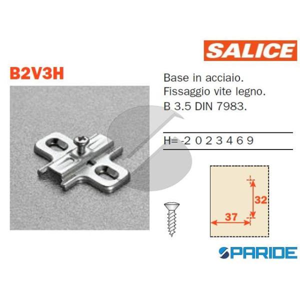 BASE A CROCE B2V3H09\15 H 0 ACCIAIO SALICE