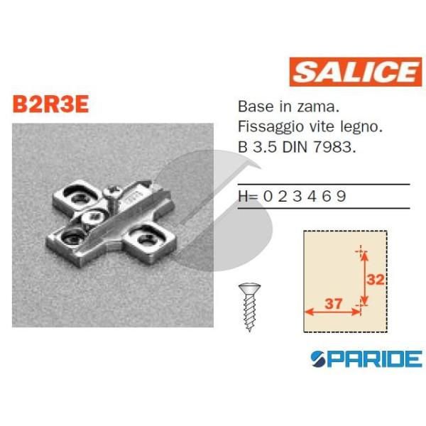 BASE A CROCE REGOLABILE H 0 B2R3E09 SALICE
