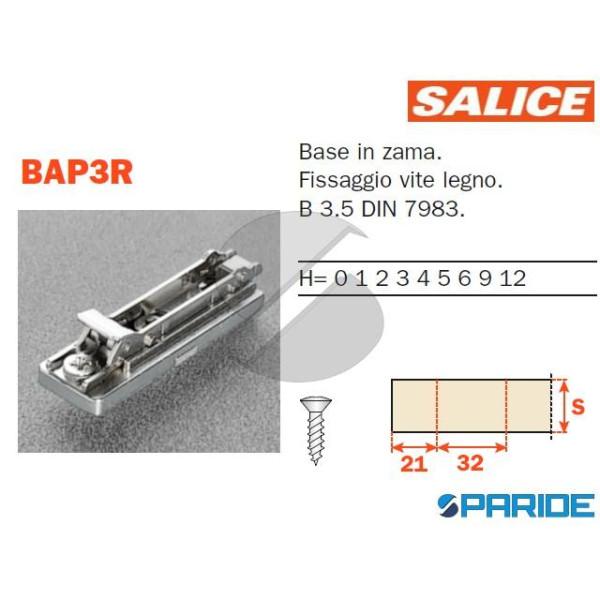 BASE DOMI INNESTO RAPIDO H2 BAP3R SALICE