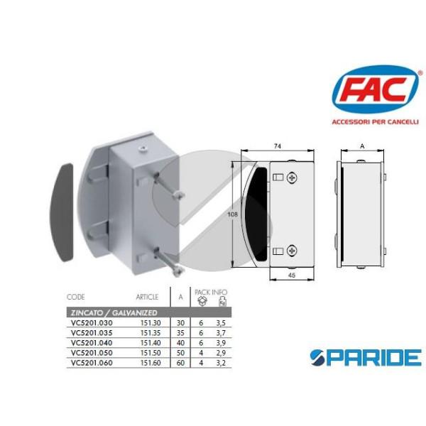 BATTENTE PORTA-INCONTRO 50 MM VC5201050 FAC ELETRO...
