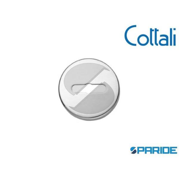 BOCCHETTA D 45 MM DOPPIA MAPPA 29010 CROMO SATINAT...