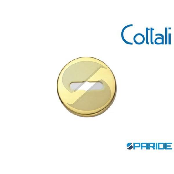 BOCCHETTA D 45 MM DOPPIA MAPPA 29010 OTTONE LUCIDO...