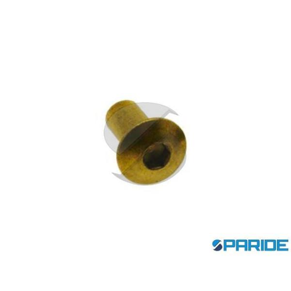 BORCHIA CON ESAGONO M5 D 12 MM OTTONE 663305