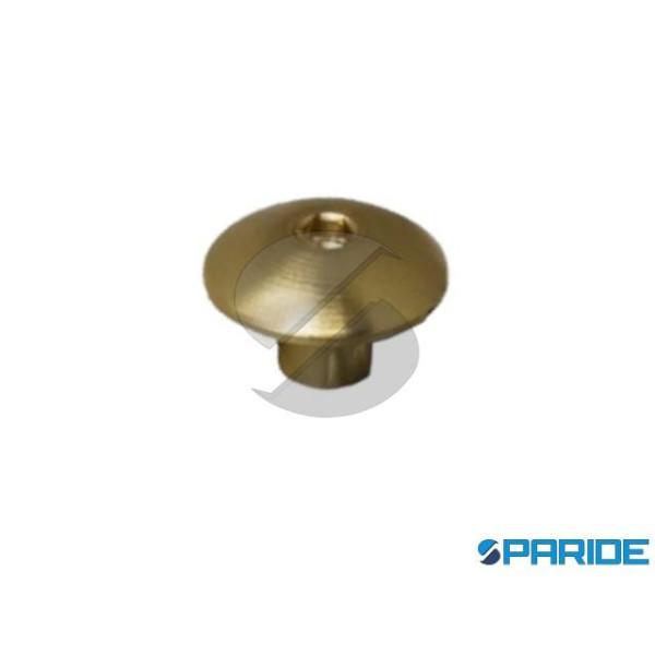 BORCHIA CON ESAGONO M5 D 15 MM OTTONE 663305