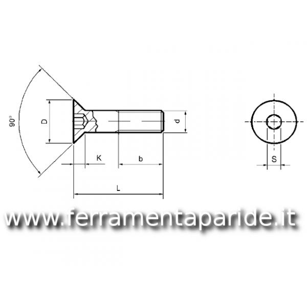 BULLONE INOX TPSEI 10X40 mm
