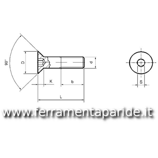 BULLONE INOX TPSEI 10X90 mm