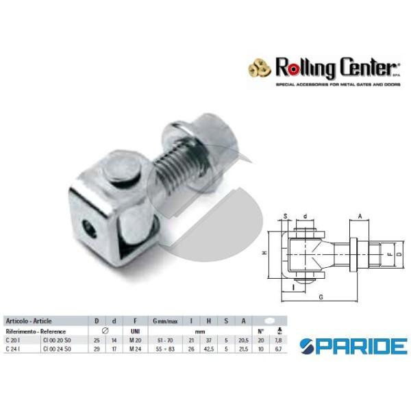 CARDINE A SALDARE C20I INOX M20 ROLLING CENTER