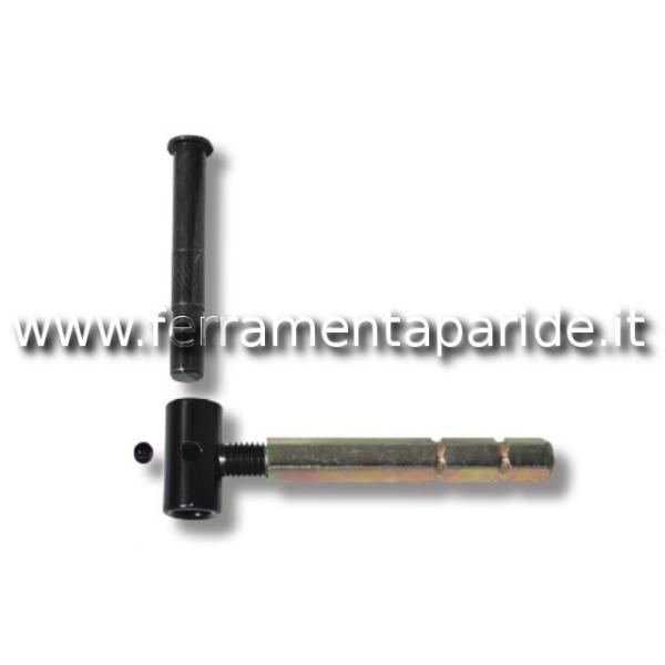 CARDINE AVVITARE REGOLABILE T12 TASSELLO NERO CON ...