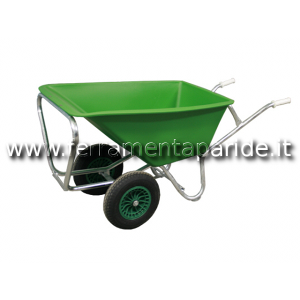 CARRIOLA FORT 2 RUOTE LT 160 PLASTICA