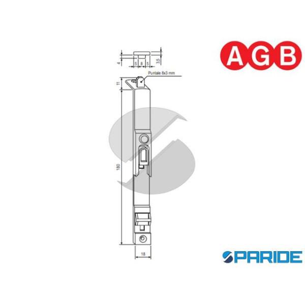 CATENACCIO SUPERIORE ARIA 11 A400360202 AGB