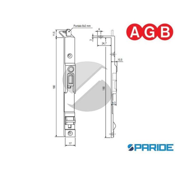 CATENACCIO SUPERIORE ARIA 12 A400360502 AGB