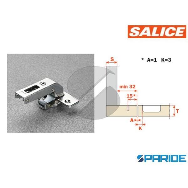 CERNIERA SALICE 94 GR D 35 C2ABN99 15X32 CONTROCOL...