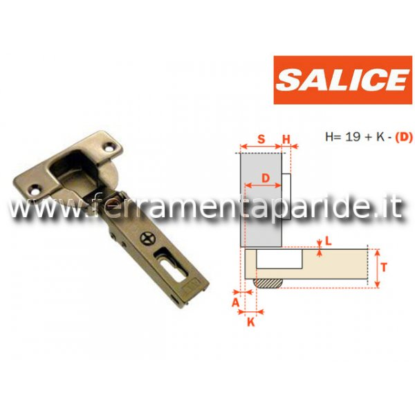 CERNIERA SALICE 94 GR D 40 COLLO 0 CFA7A99  SERIE ...