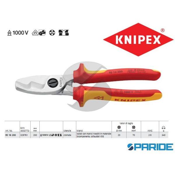 CESOIA PER CAVI 95 16 200 KNIPEX