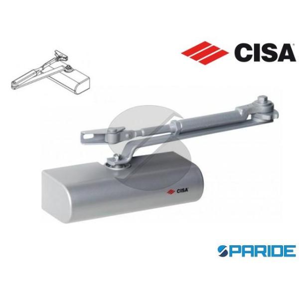 CHIUDIPORTA AEREO C1415 CISA SMART PLUS 2 GRIGIO S...