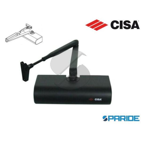 CHIUDIPORTA AEREO C1415 CISA SMART PLUS 2 NERO SEN...