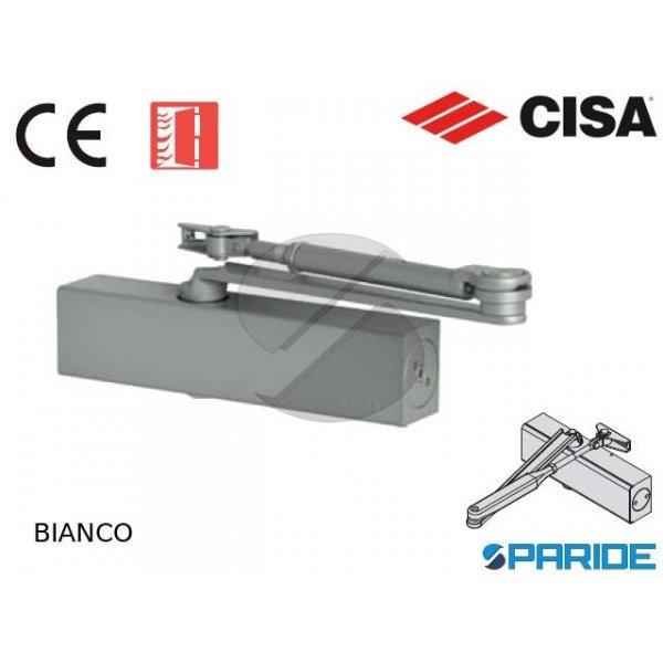 CHIUDIPORTA AEREO C1510 03 45 CISA BIANCO PROFESSI...