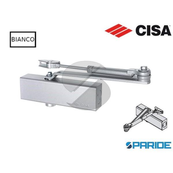CHIUDIPORTA AEREO C1511 CISA BIANCO PROFESSIONAL P...