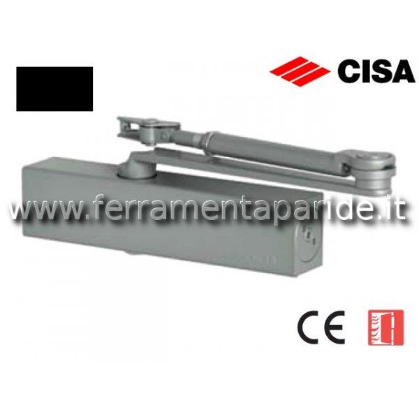 CHIUDIPORTA AEREO C1610 CISA NERO PROFESSIONAL PLU...