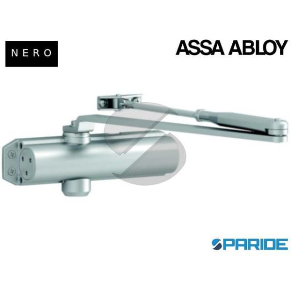 CHIUDIPORTA AEREO DC120 ASSA ABLOY NERO CON BRACCI...