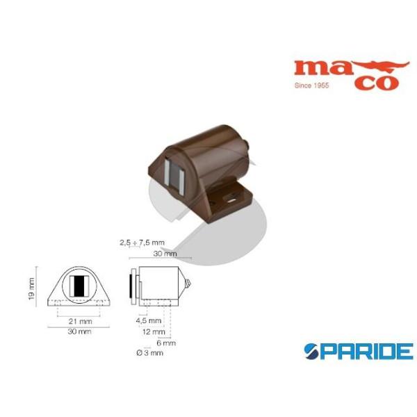 CHIUSURA MAGNETICA 10 KG 0640 MARRONE REGOLABILE M...