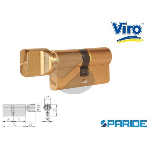 CILINDRO CON POMOLO L 70 941 6 OTTONE VIRO B=30 C=...