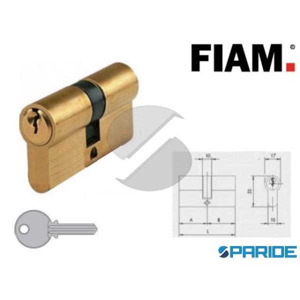 CILINDRO DOPPIO L 54 MM 60001 FIAM OTTONE 27 27