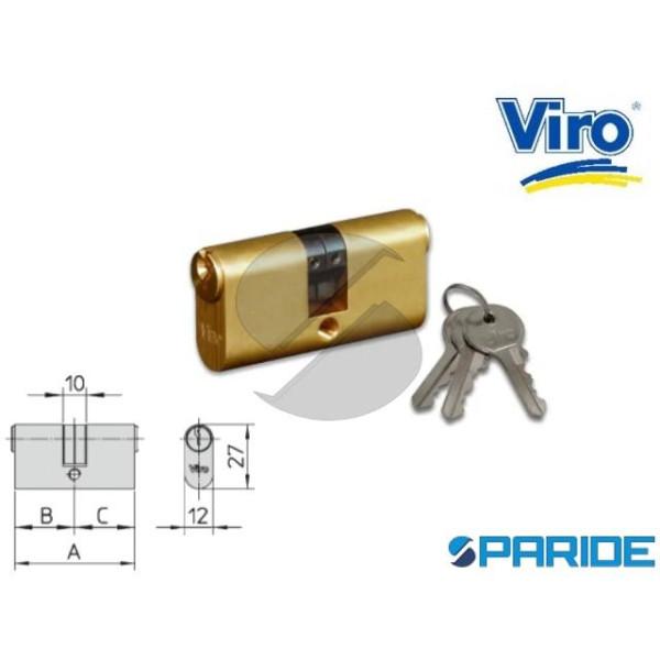 CILINDRO OVALE L 51 744 OTTONE VIRO NOTTOLINO SDOP...