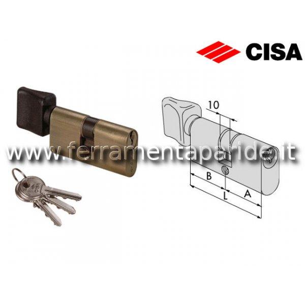 CILINDRO OVALE L 63 08230 06 CON POMOLO CISA OTTON...