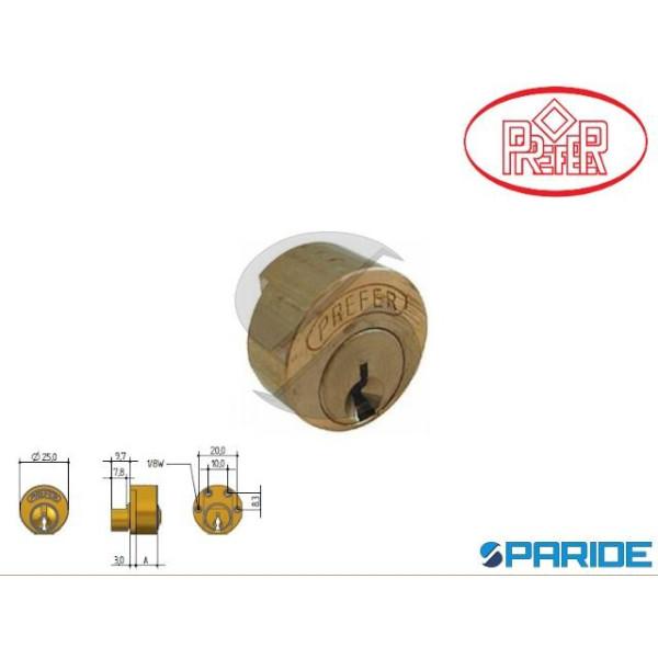 CILINDRO TONDO 6811 PREFER A 11 MM  B551-6551 BASC...