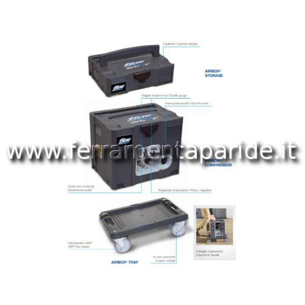 COMPRESSORE AIRBOX 2 COMBY 3 LT V230 50 FIAC