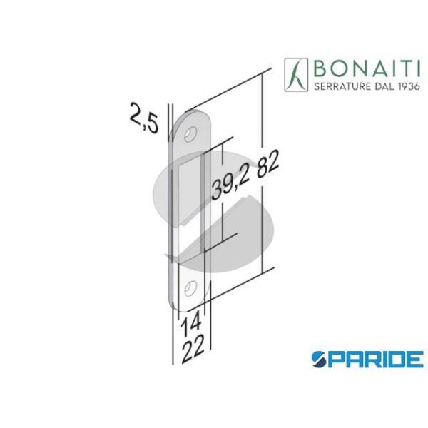 CONTROPIASTRA 183 B BITTER BONAITI CROMO OPAC0 4G1...