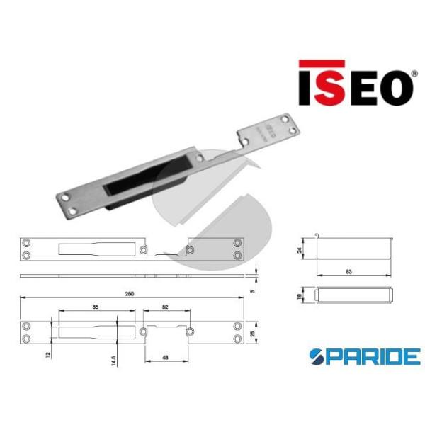 CONTROPIASTRA FRONTALE INOX 25X3 L 250 033190 ISEO