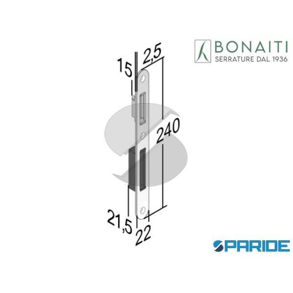 CONTROPIASTRA MAGNETICA G343 CROMO SATINATO F22 4G...