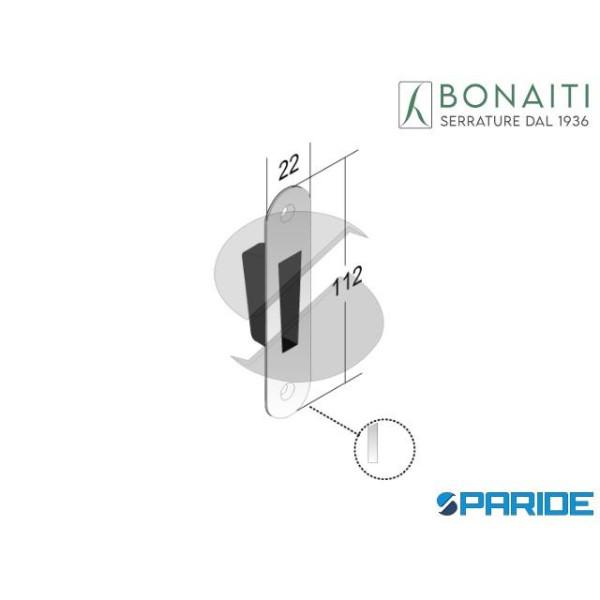 CONTROPIASTRA MAGNETICA G986 CROMO SATINATO F 22 4...
