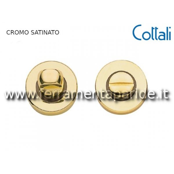 COPPIA NOTTOLINO WC D 45 MM 32861 CROMO SATINATO C...