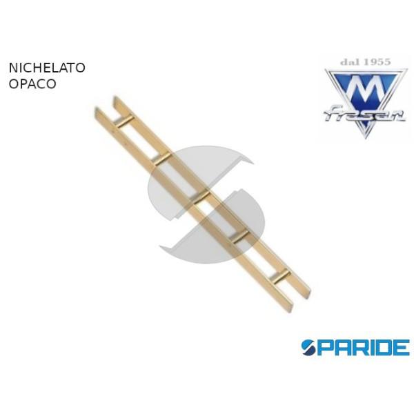 CREMAGLIERA 620 CM 200 NICHELATO OPACO PER REGGIME...