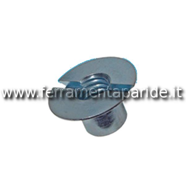 DADO SVASATO A 110GR C\INTAGLIO M5 ZINC BN224