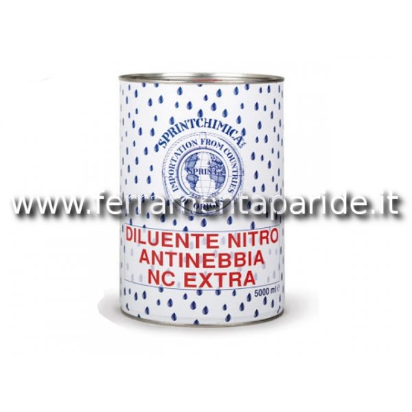 DILUENTE NITRO NC EXTRA 5 LT ANTINEBBIA