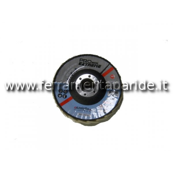 DISCO LAMELLARE IN FELTRO 115X22
