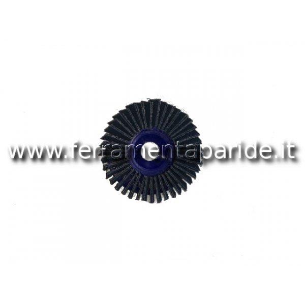 DISCO LAMELLARE PLASTICA ZIRC.P60 D.115 INF.IN PIE...