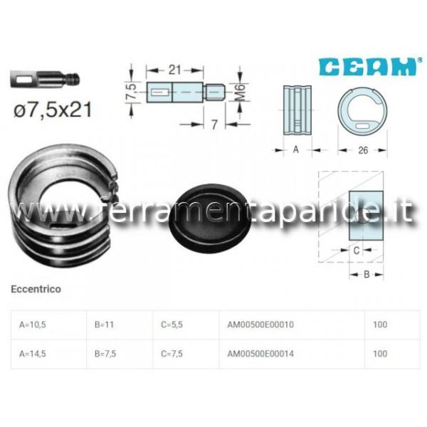ECCENTRICO D 26X10,5 MM ZINCOCROMATO 500 CEAMCON P...