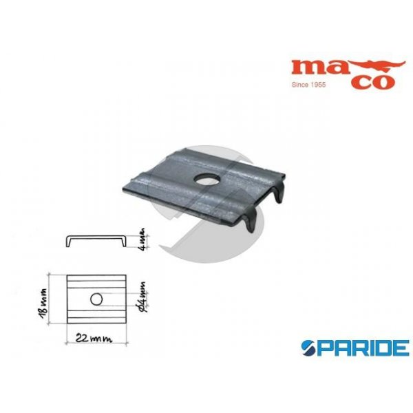 FERMASCHIENALE A 4 PUNTE 0149 LUCIDO MACO