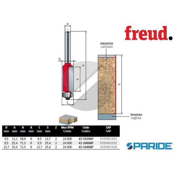 FRESA D 12,7 MM PER RIFILARE 42-10406P LEGNO FREUD